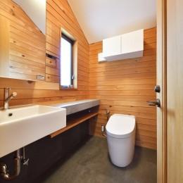 Y邸_家事動線は働く主婦の強い味方 (トイレ)