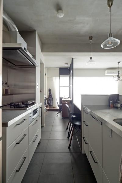 ブリティッシュスタイルな家 (キッチン)