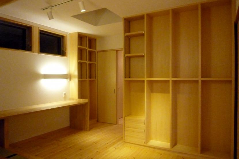double loopの部屋 書斎