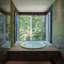 OH山荘 (浴室)