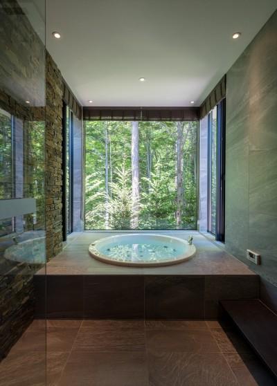 浴室 (OH山荘)