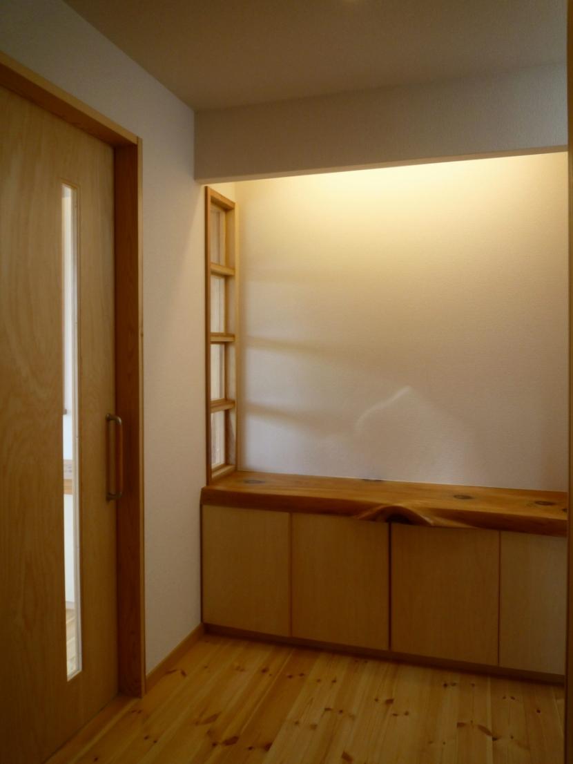 double loopの部屋 玄関