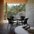 23B山荘の写真 テラス
