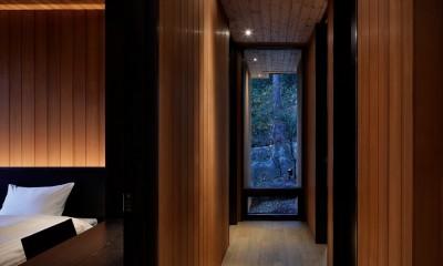 23B山荘 (廊下)