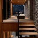 23B山荘の写真 階段