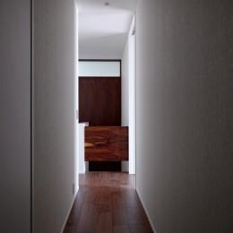 武蔵浦和の家 (階段)