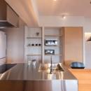 習志野市Dさんの家の写真 コンパクトなキッチン