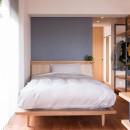 習志野市Dさんの家の写真 ベッドコーナー