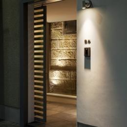 松が谷の家 (玄関)