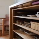 文京区Iさんの家の写真 キッチンの収納