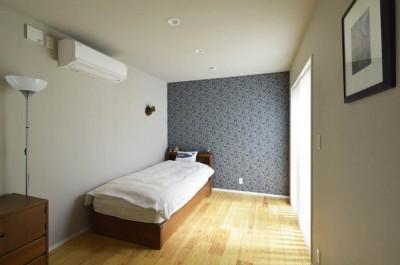 2階の寝室 (耐震x温熱xスケルトンリフォーム)