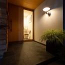 蒲郡 旭町の家の写真 玄関アプローチ