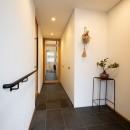 蒲郡 旭町の家の写真 玄関ホール