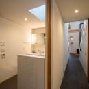 蒲郡 旭町の家の写真 廊下-洗面脱衣トイレ