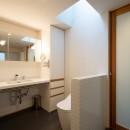 蒲郡 旭町の家の写真 水廻り(洗面・トイレ)