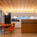 蒲郡 旭町の家の写真 キッチンとダイニングスペース