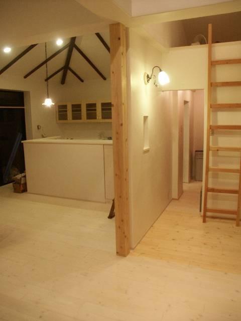 【豊中市】旧家の日常スペースをリノベーション (キッチン&リビング)