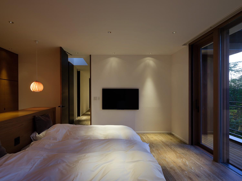 ベッドルーム事例:寝室(OJ山荘)