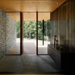 鶴溜山荘2 (玄関)