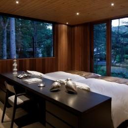鶴溜山荘2 (寝室)