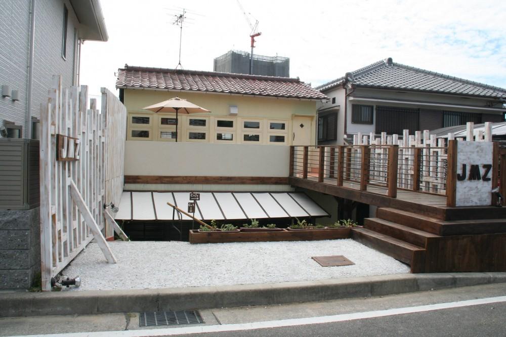 【摂津市 店舗】純和風の古民家の特長を最大活用しリノベーション (外観)