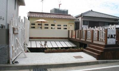 【摂津市 店舗】純和風の古民家の特長を最大活用しリノベーション