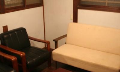 【摂津市 店舗】純和風の古民家の特長を最大活用しリノベーション (待合室)