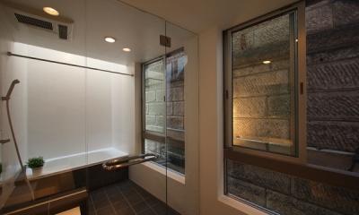松が谷の家 (浴室)