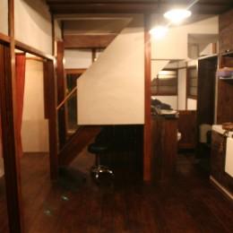 【摂津市 店舗】純和風の古民家の特長を最大活用しリノベーション (フリースペース)