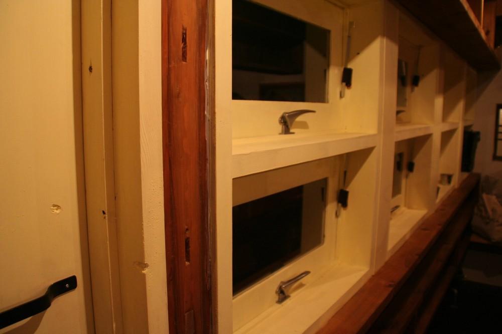 【摂津市 店舗】純和風の古民家の特長を最大活用しリノベーション (2階 窓)