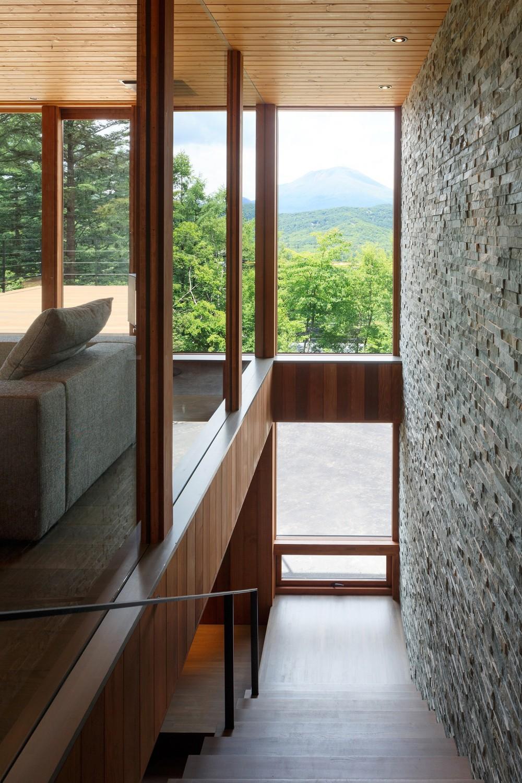 太陽の森山荘 (階段)
