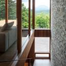 太陽の森山荘の写真 階段