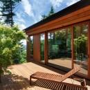 太陽の森山荘の写真 デッキ