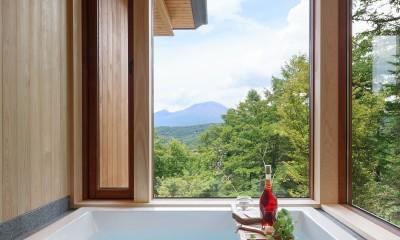 太陽の森山荘 (浴室)