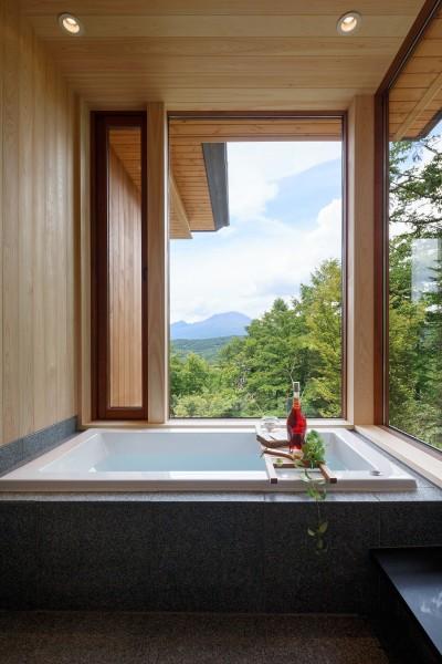 浴室 (太陽の森山荘)