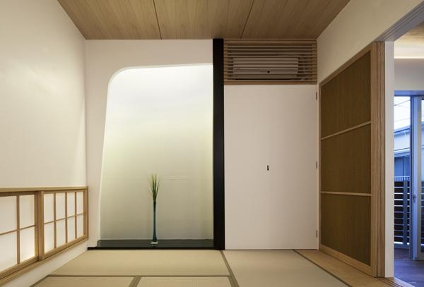 松が谷の家 (親世帯和室)