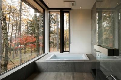 浴室 (KB山荘)