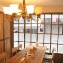 木のめ舎の住宅事例「【大阪市 店舗】女性オーナーの雰囲気いっぱいのカフェ」