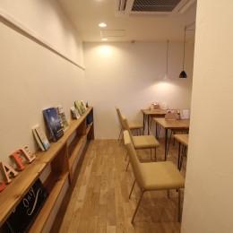 【大阪市 店舗】女性オーナーの雰囲気いっぱいのカフェ