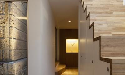 松が谷の家 (廊下)