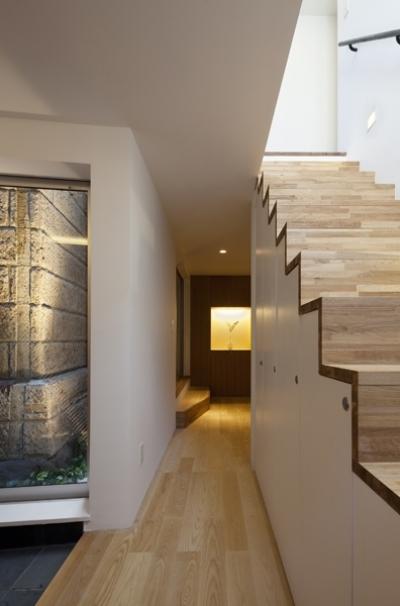 廊下 (松が谷の家)