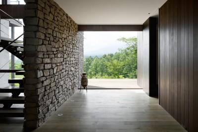玄関 (AM山荘)