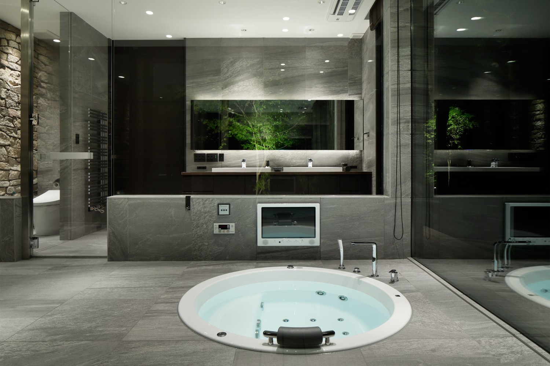 バス/トイレ事例:浴室(SM山荘)