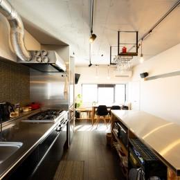 お料理やお酒、それぞれの『好き』を楽しむ家
