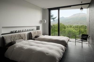 寝室 (KI山荘)
