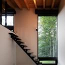 U山荘の写真 階段