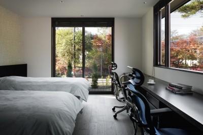 寝室 (SI山荘)