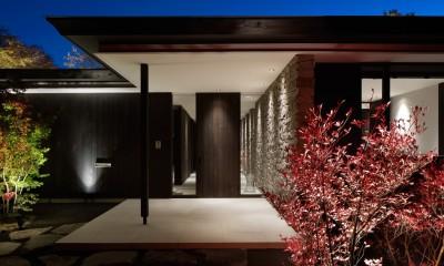 SI山荘 (玄関)