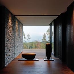 TK山荘 (玄関)