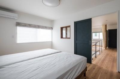 寝室 (『呉の家』ゆったりと寛げる家)
